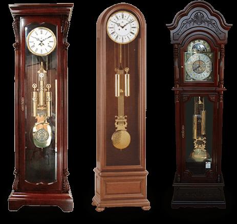 日本最大級の大型置き時計展示場を設置